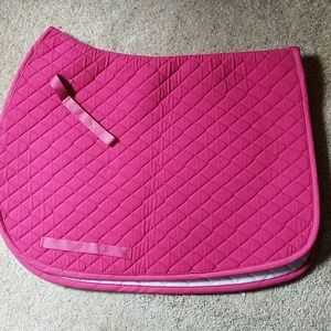 Pink saddle pad (All purpose)
